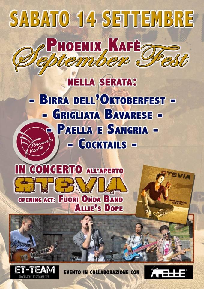 Locandina LIVE @ Phoenix Kafè