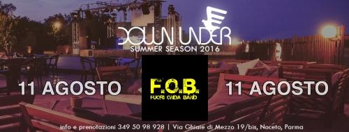 FOB live @ DOWNUNDER 2016